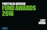 Portfolio Adviser Fund Awards 2016 - Platinum award, International Equity Income category